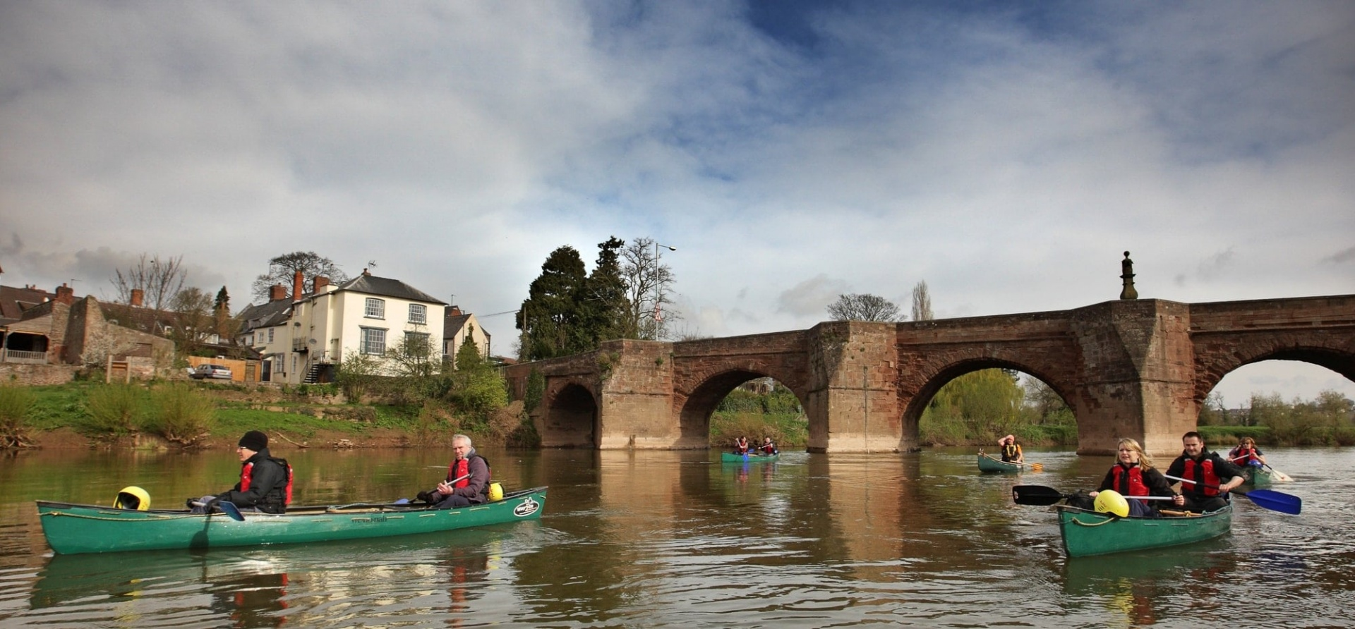 Full Day Canoeing Experience on the River Wye in Gloucestershire-2