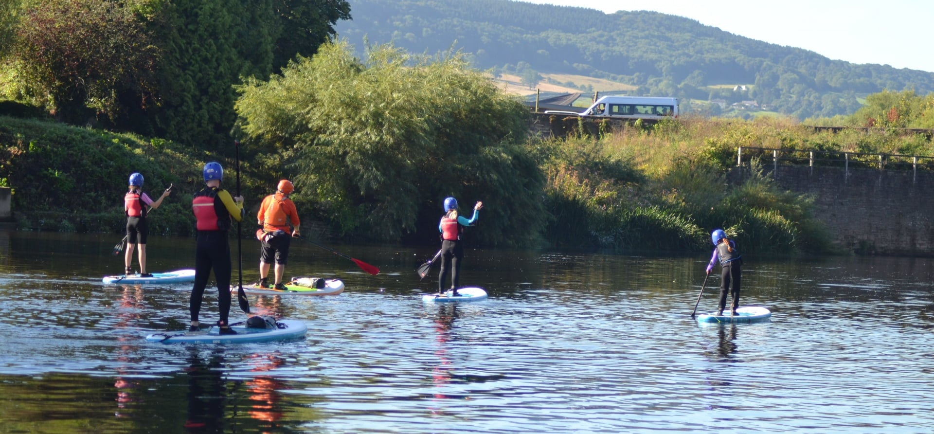 River Wye Guided SUP Tour-1