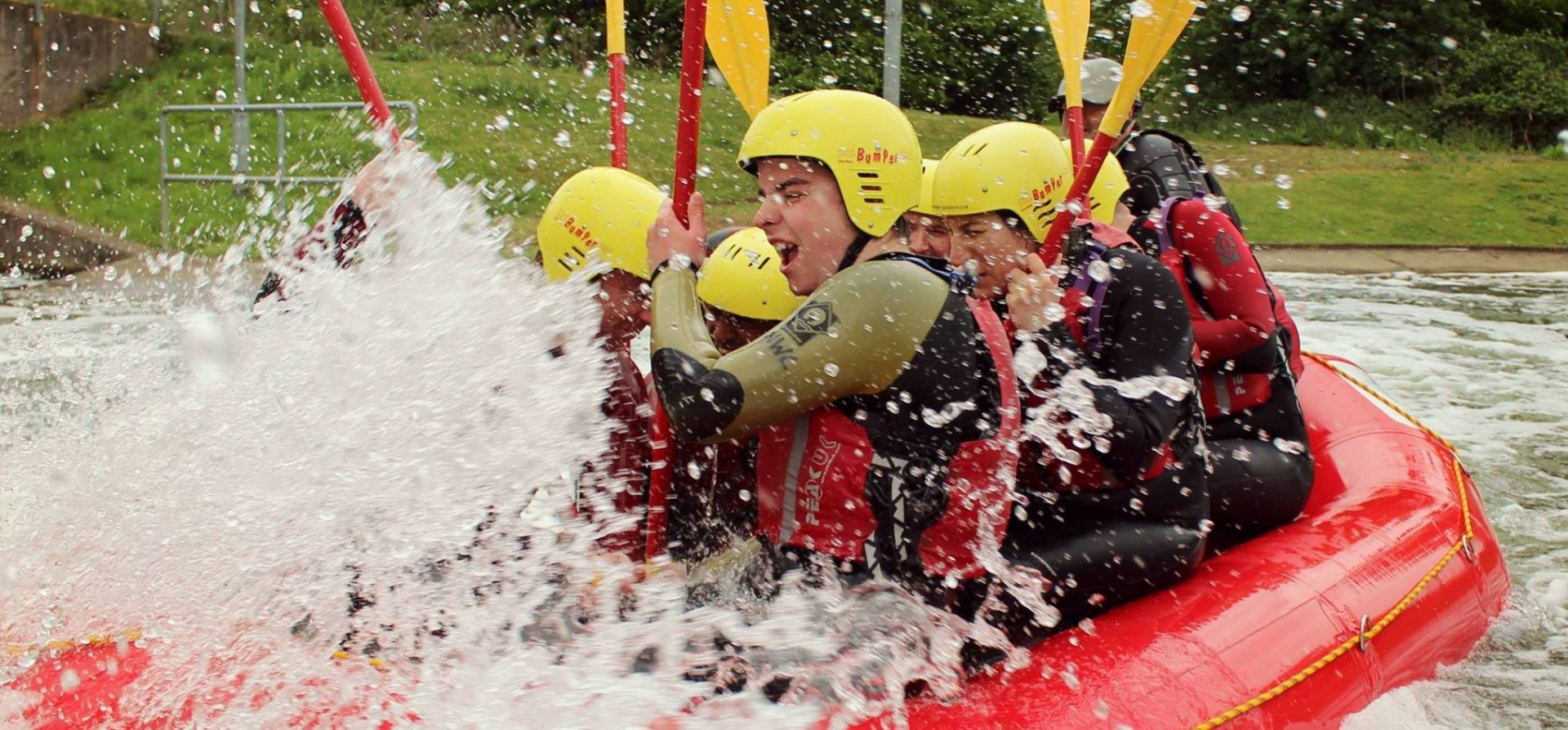 White Water Rafting Experience for 2 - Man Made Course-7