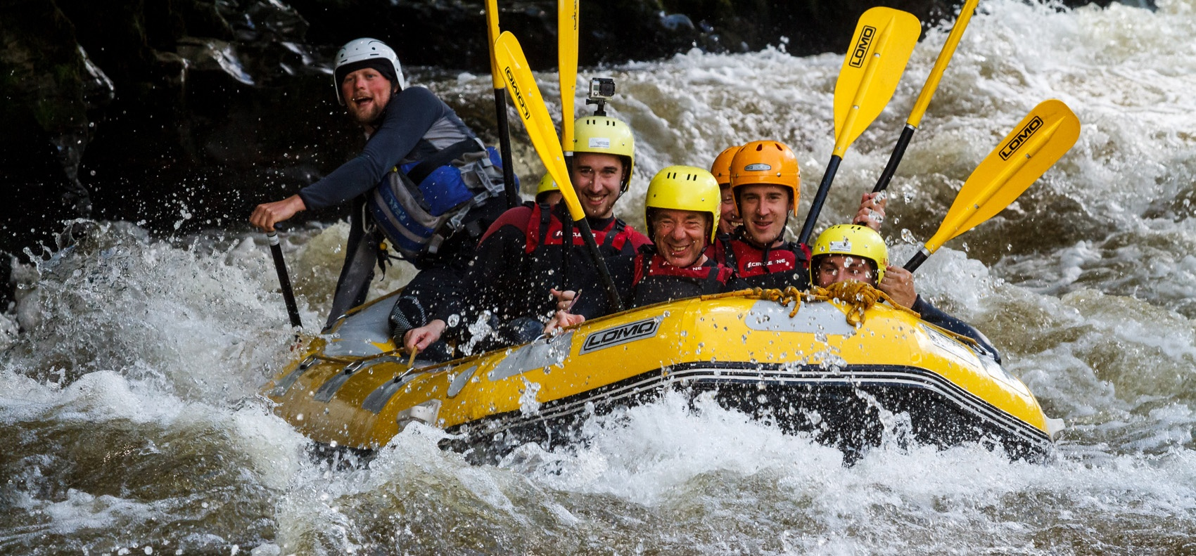 White Water Rafting Experience - North Wales-5