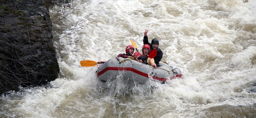 White Water Rafting Experience - Llangollen-1