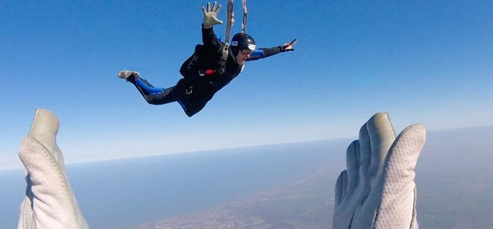 Full Accelerated Skydiving Course (AFF) in Durham-3