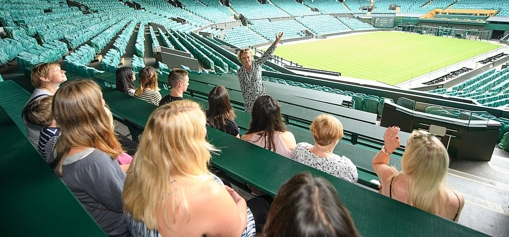 Wimbledon Tennis Tour and Lunch for Two-8