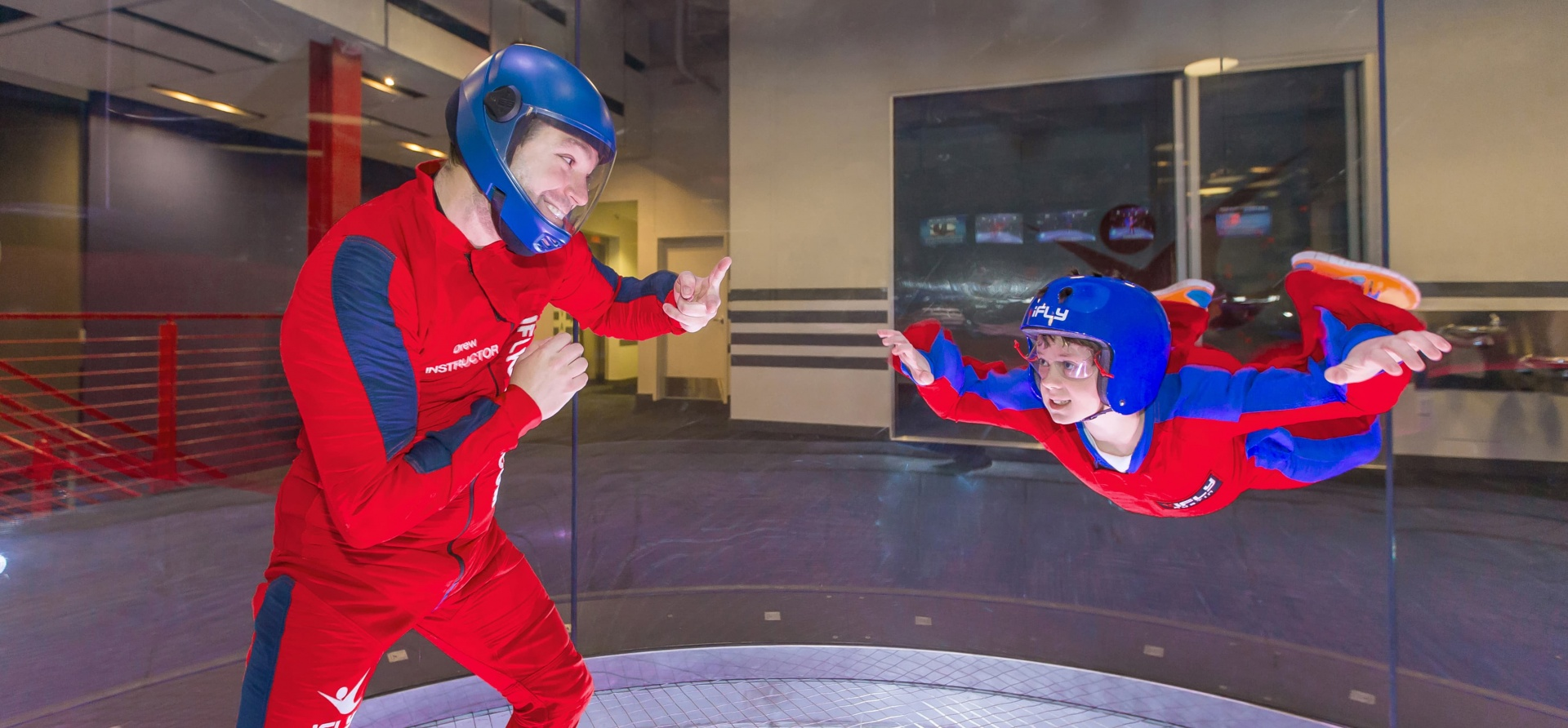 Indoor Skydiving Airborne-5
