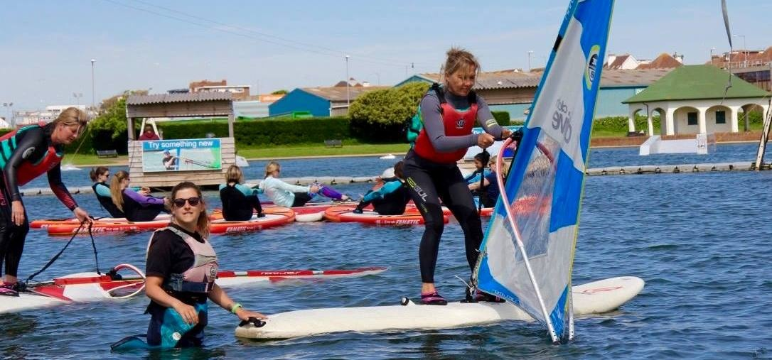 Windsurfing Experience in East Sussex-3