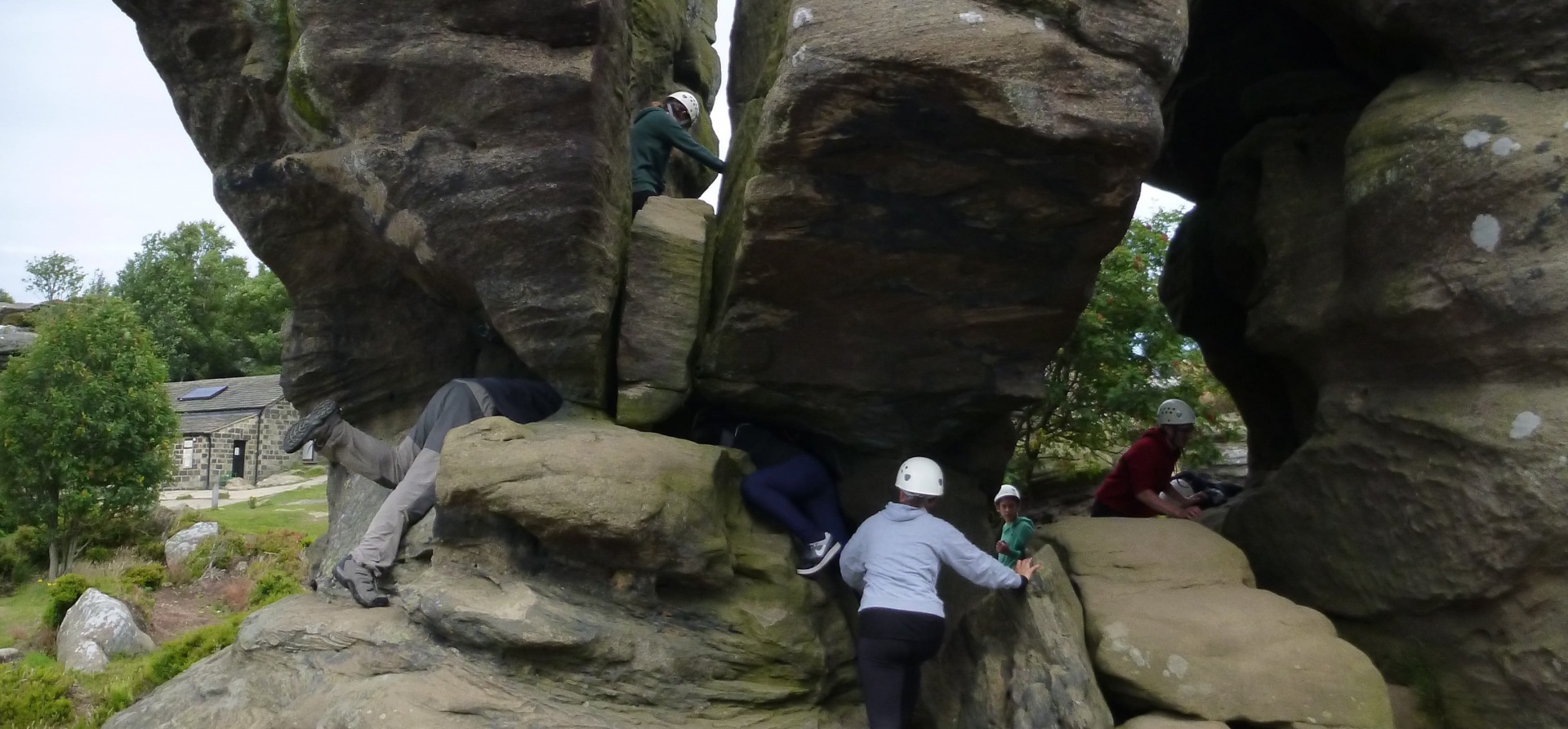 Yorkshire Rock Climbing Experience For 4-7