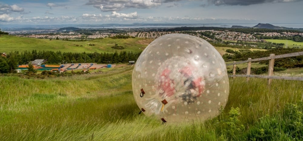 Zorbing Combo for Two in Edinburgh-5