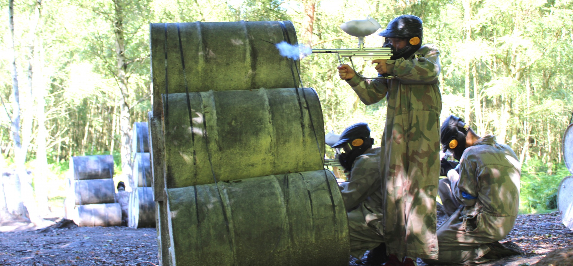 Full Day Paintballing Experience plus 100 Paintballs pp-5