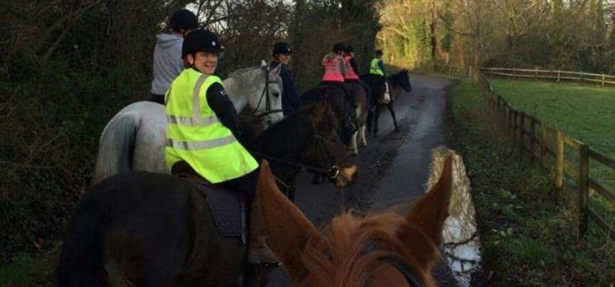 Horse Riding in Hampshire - Advanced Lesson-4