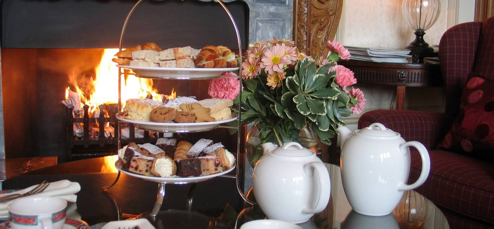 Afternoon Tea For Two At Cringletie House-5