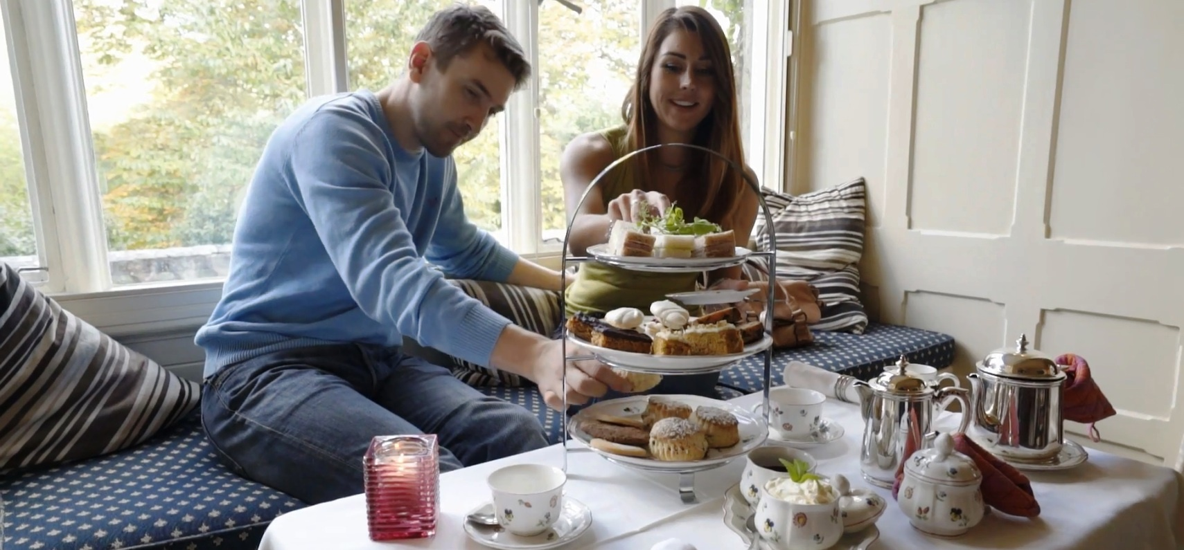 Afternoon Tea for Two in Snowdonia National Park-1