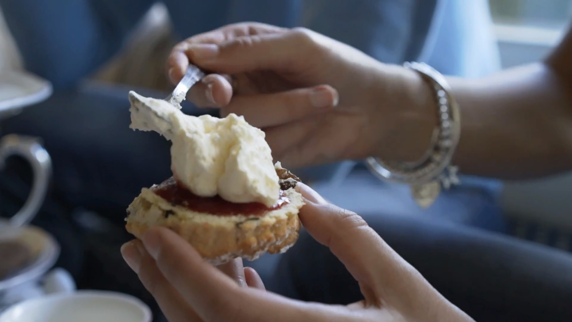 Welsh Cream Tea for Two in Snowdonia National Park