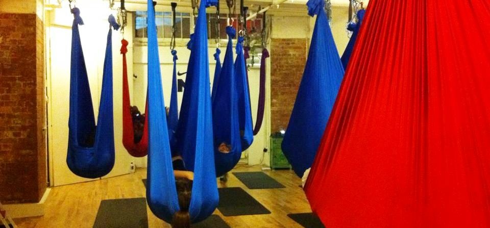 Anti Gravity Yoga Class For Two - London-2
