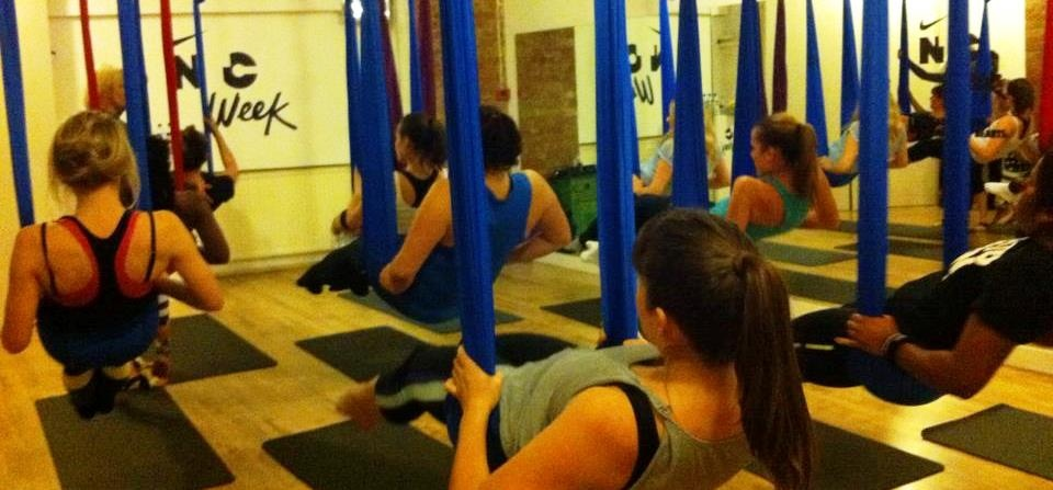 Anti Gravity Yoga Class For Two - London-3