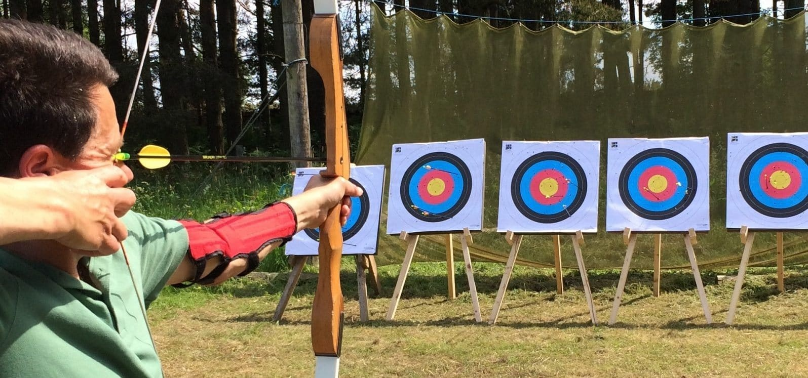 Archery Experience in Northumberland-1