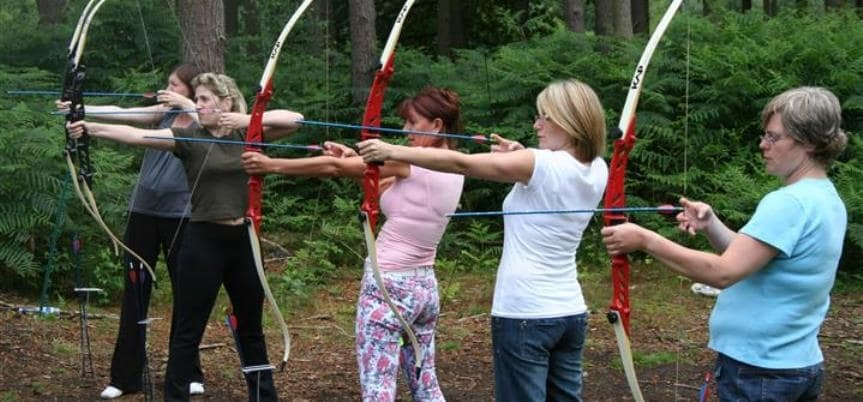 Nottingham Archery Lessons For Two-4