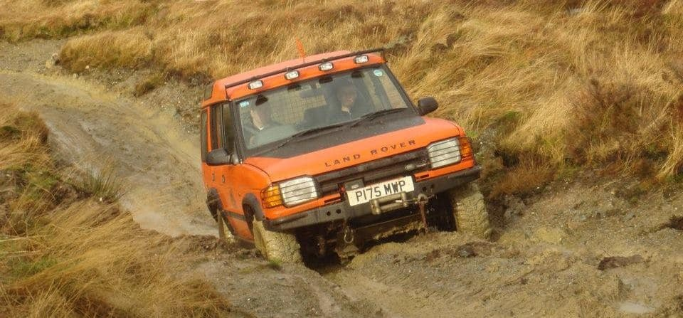 Advanced 4x4 Driving Experience - Argyll-1