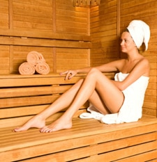 The History of Pamper Days - Sauna