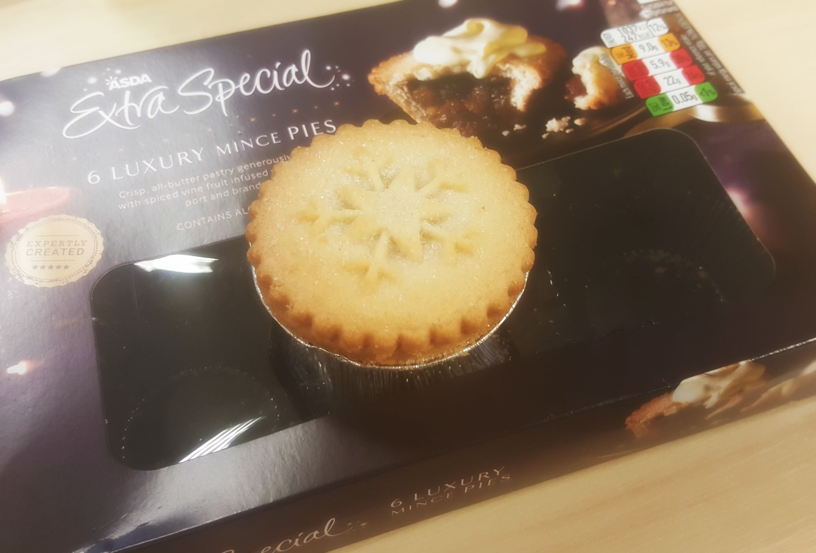 Experience Days Christmas Mince Pies 2