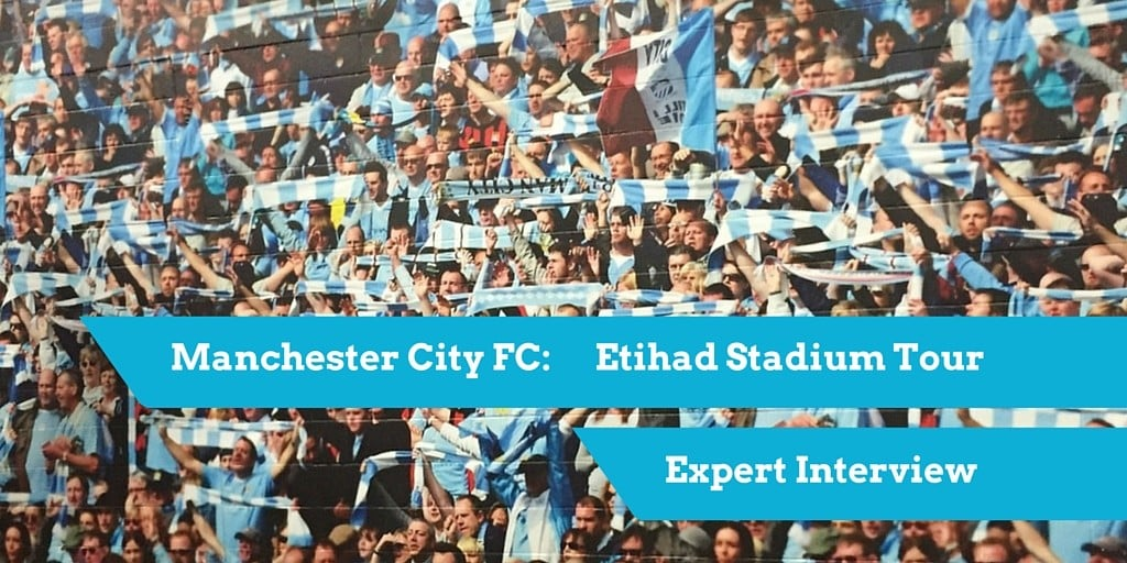 Manchester City FC Stadium Tour 1