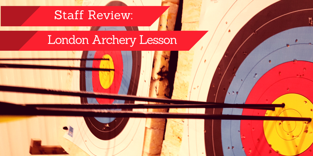 London Archery Lesson Experience 1