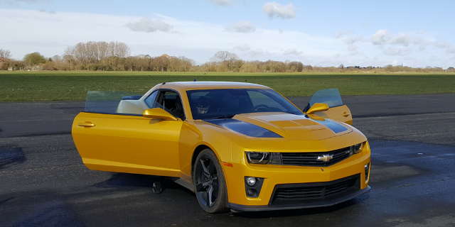 Camaro Bumblebee Driving Experience 1