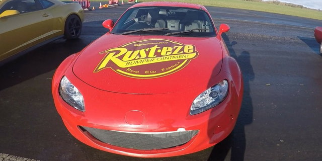 Mazda Mx5 Lightning McQueen Driving