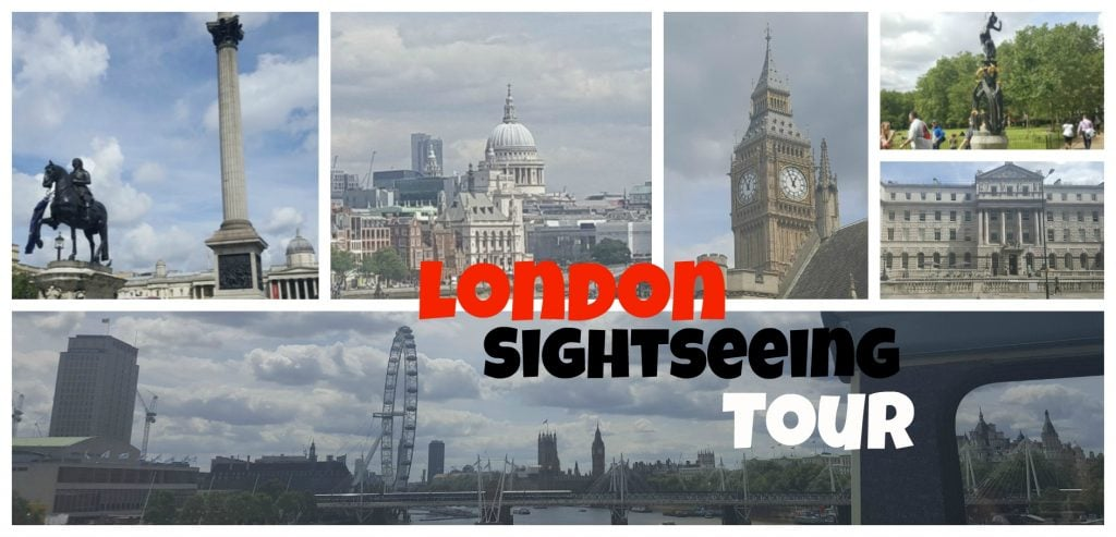 London bus tour header
