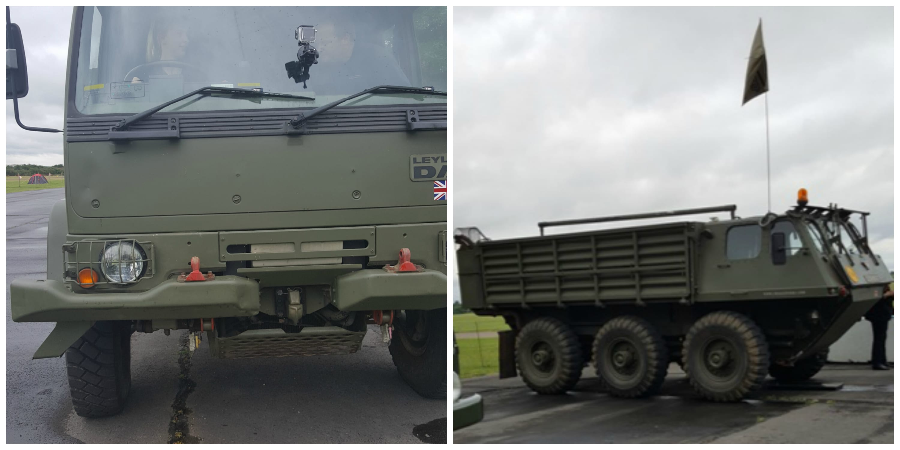 army truck collage 1