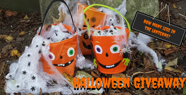 Halloween Giveaway! How Many Legs In The Lanterns?