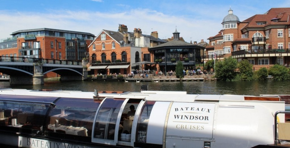 3 Course Windsor River Cruise with Bateaux London