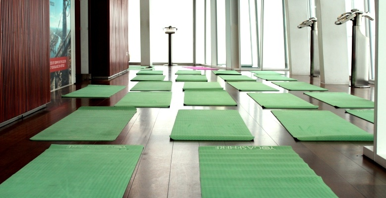 Staff Review: One Hour Yoga Class At The Shard
