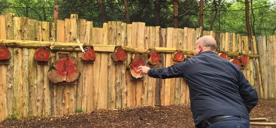 Axe Throwing Experience for Two in Leicestershire-3