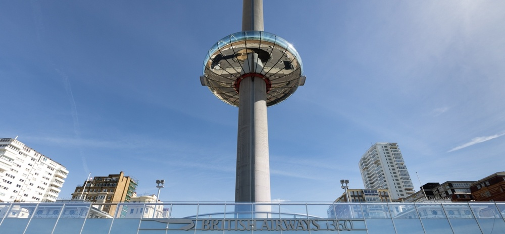 British Airways i360 and 3-Course Dinner for Two-1