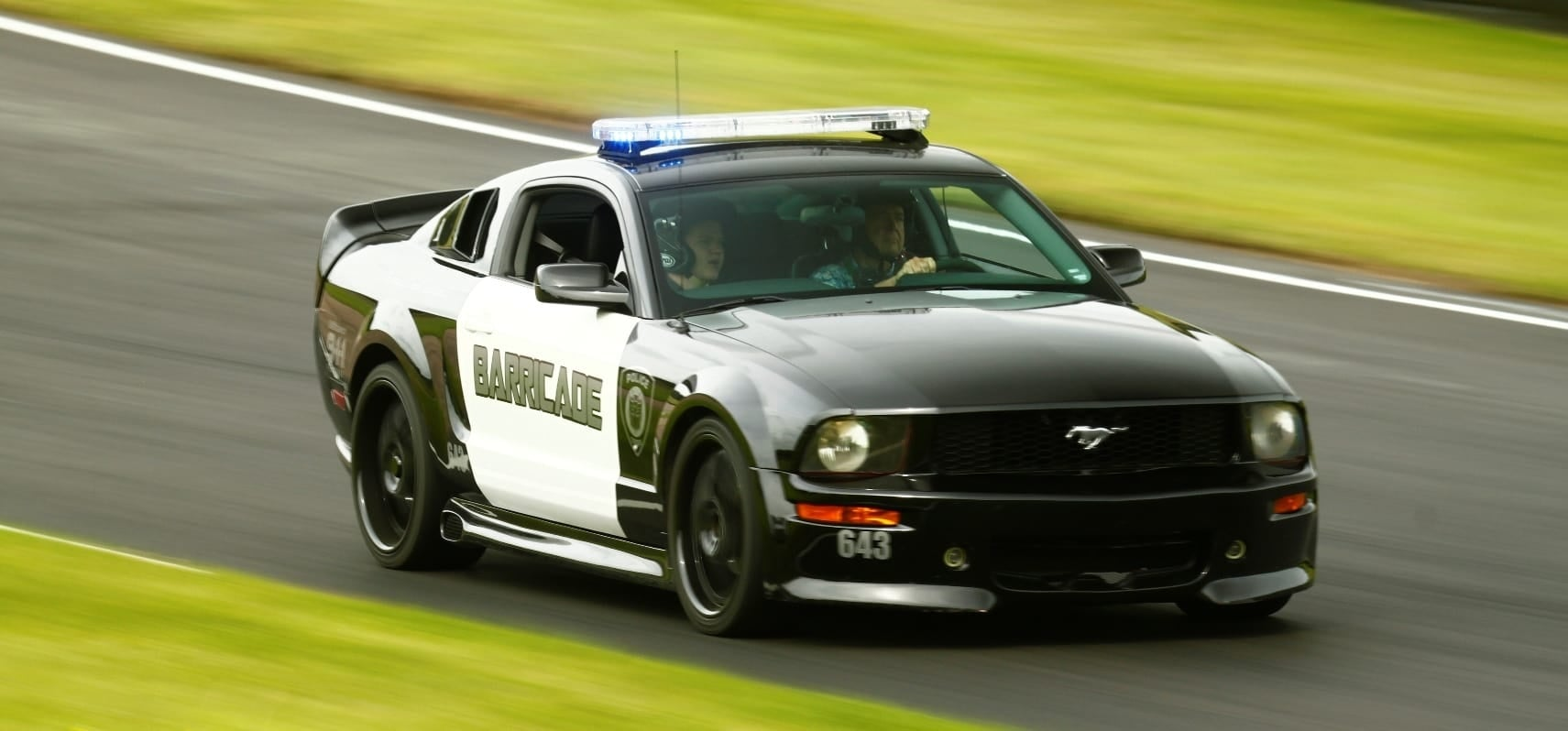 'Barricade' Mustang GT Experience-3