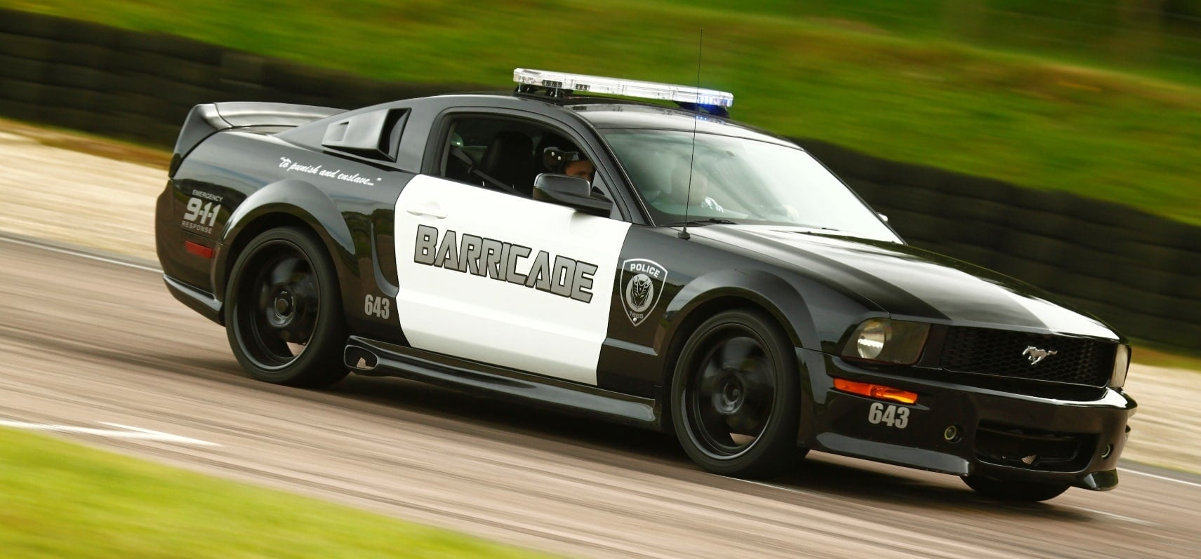 'Barricade' Mustang GT Experience-8