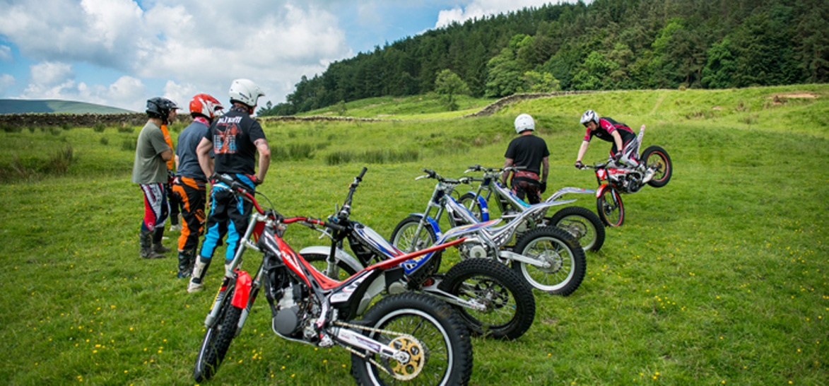 Beginners Full Day Trials Biking Experience in Lancashire-6