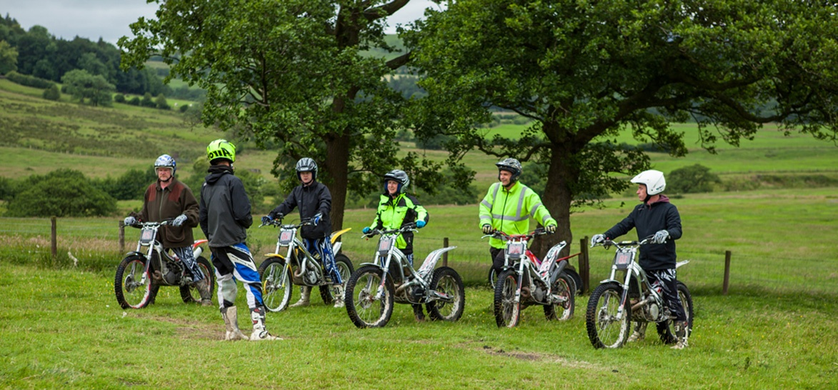 Beginners Full Day Trials Biking Experience in Lancashire-8