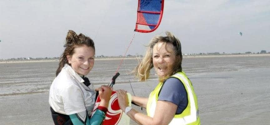 1 Day Camber Sands Kitesurfing Course-4