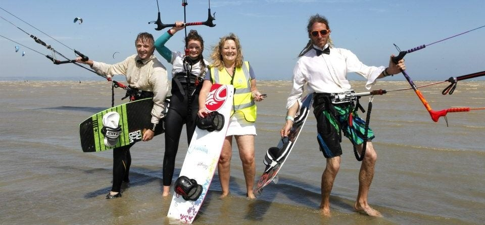 1 Day Camber Sands Kitesurfing Course-5