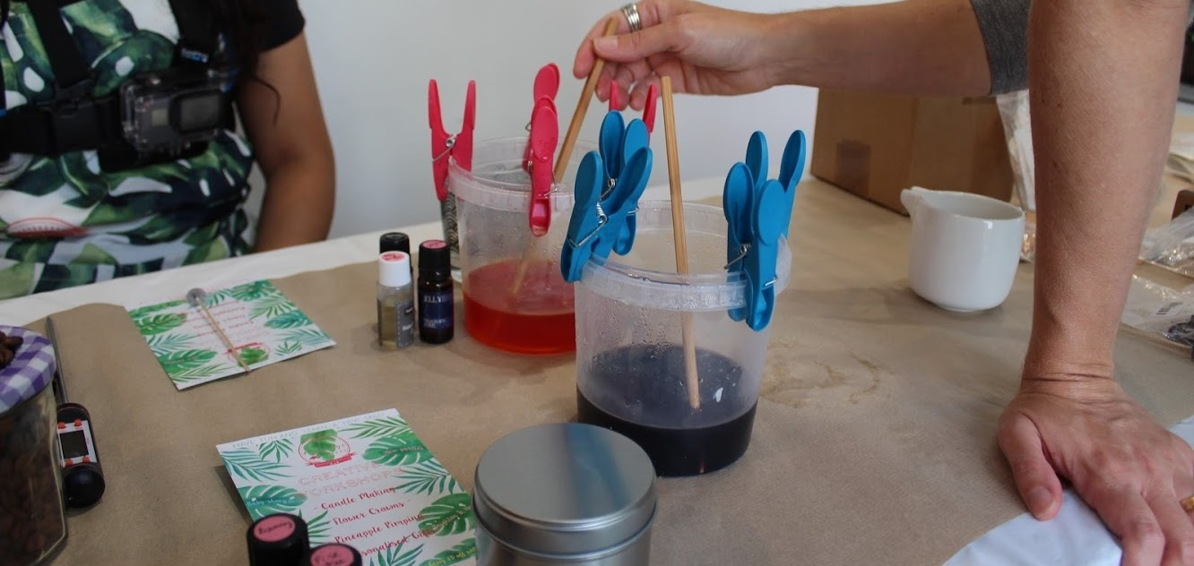 Make Your Own Candle Workshop in Brighton-10