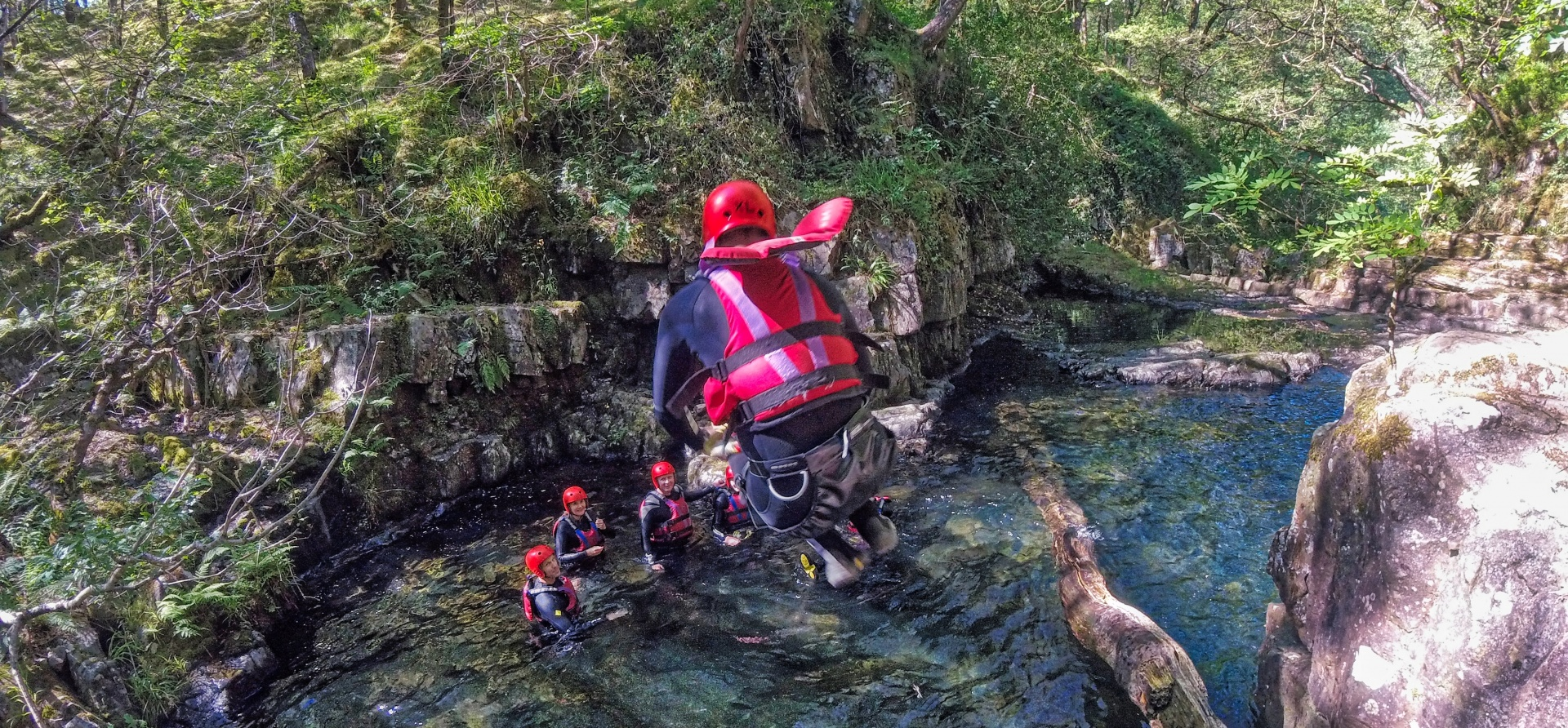 Canyoning Experience - Wales-1