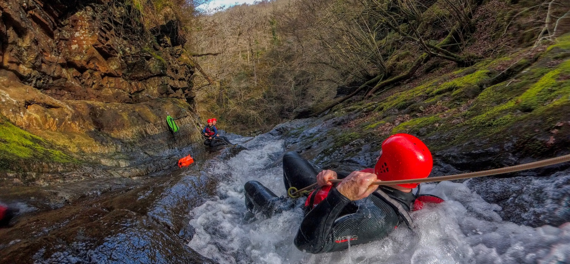 Canyoning Experience - Wales-2