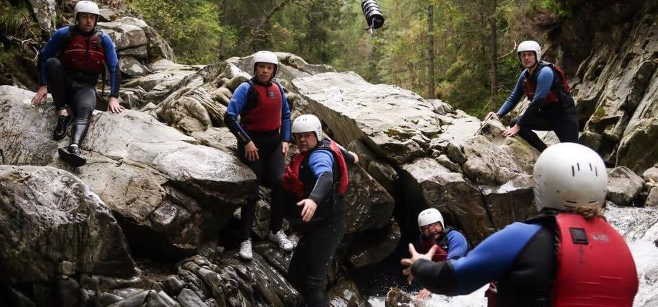 Experience Canyoning in Scotland-3