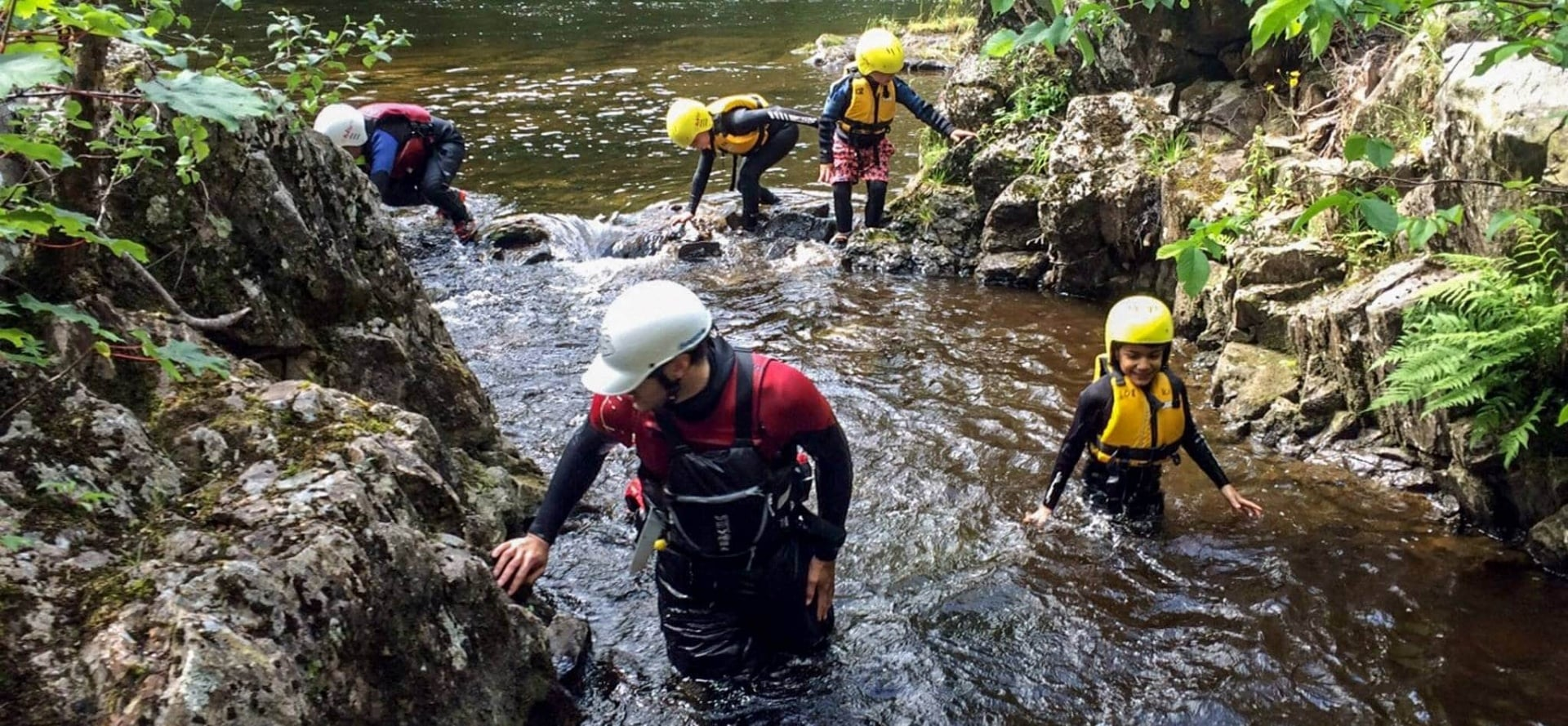 Canyoning Experience for Two - Scotland-3