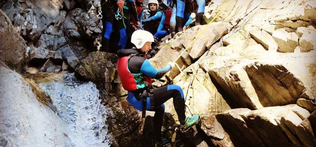 Canyoning Experience for Two - Scotland-1