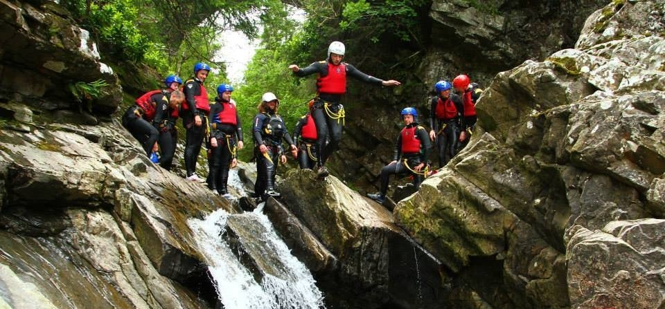 Experience Canyoning in Scotland-2