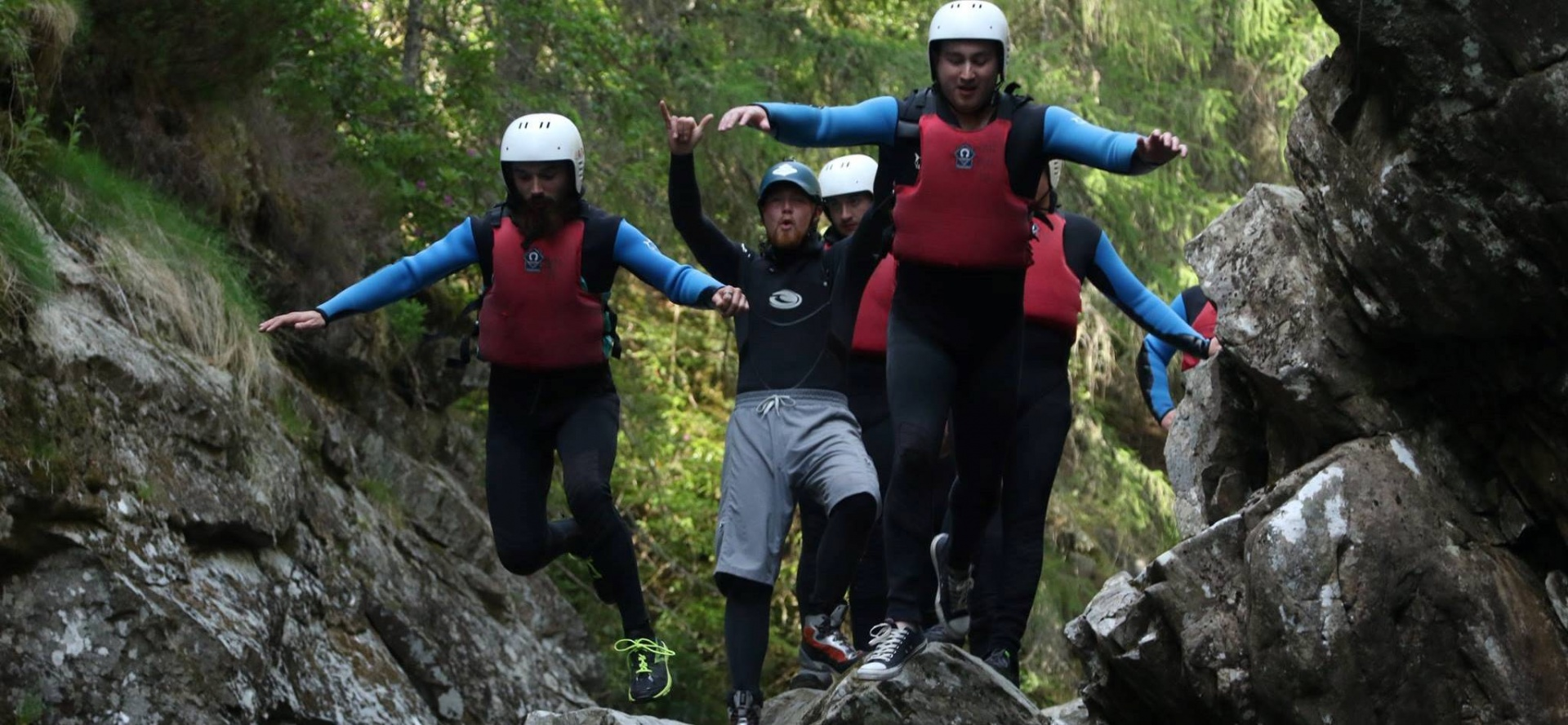 Canyoning Experience for Two - Scotland-4