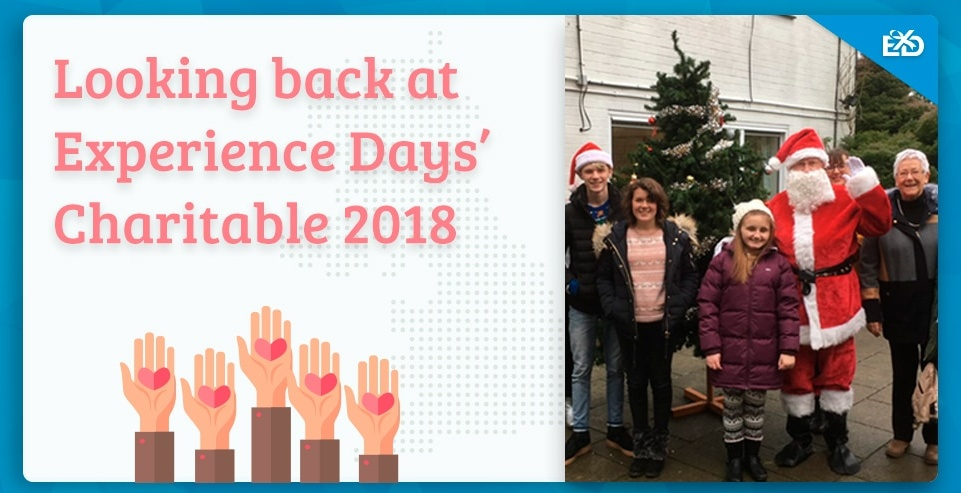 Looking back at Experience Days' Charitable 2018