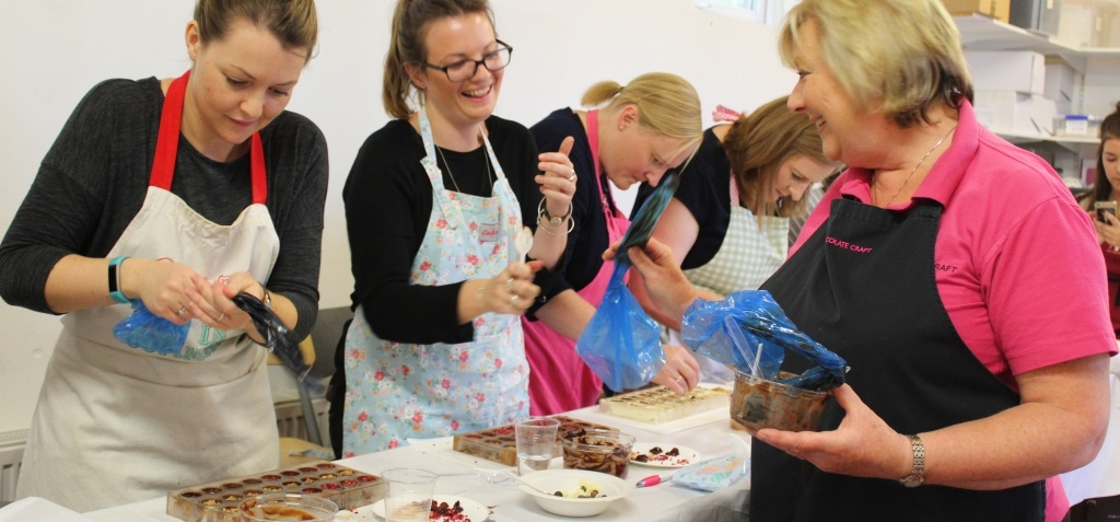 Hampshire Luxury Chocolate Making Workshop for Two-6